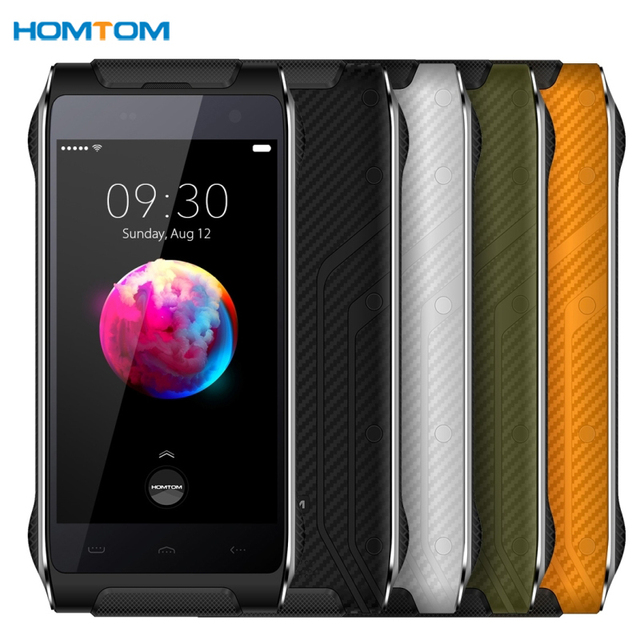 HOMTOM HT20 Pro Tri-proofing 3GB+32GB IP68 Waterproof Dustproof Shockproof Fingerprint Identification 4.7'' Android Cell Phone