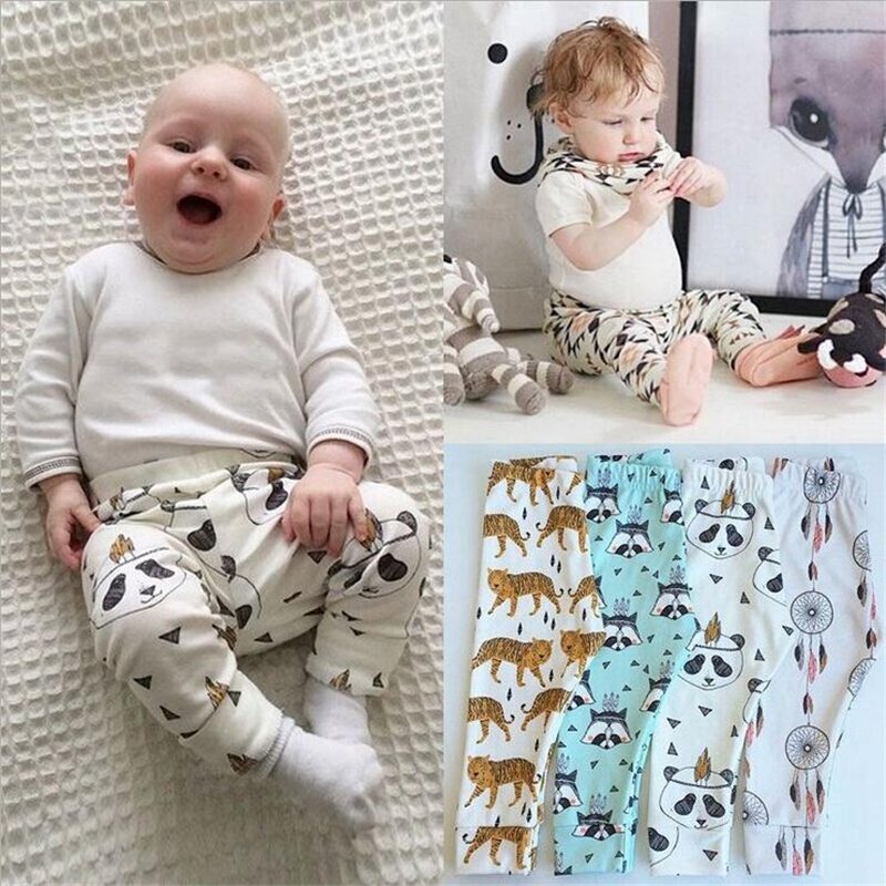 f985b3d4d 2016 New Design Spring Autumn Boys Girls Harem Panda Pants for ...