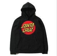 2019 Skateboard Skate Santa Cruz Man Sweatshirt Hoodies Men Casual Fleece Pullover Santa Cruz Sweatshirts