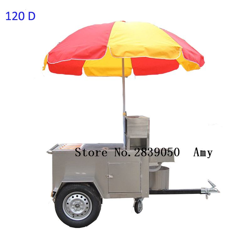 15d639dea0a Small volume bakery food cart trailer for sale hot dog cart mobile food  halal food cart for sale