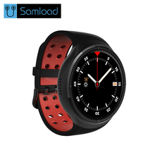 Samload Bluetooth Smart Watch Android 5.1 1GB + 16GB GPS WiFi Nano SIM card 3G Wristwatch Men's Smart watch For xiaomi pone