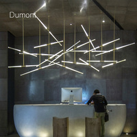 Designer chandeliers in the Nordic idea branches pendent lamp Acrylic Bubble lamp droplight of post modern art