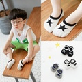 Baby Sneaker Sport Invisible Socks 3 pairs/lot Cotton Pentagram 1-10T Casual Cute Children Kids Ankle Low-cut Socks