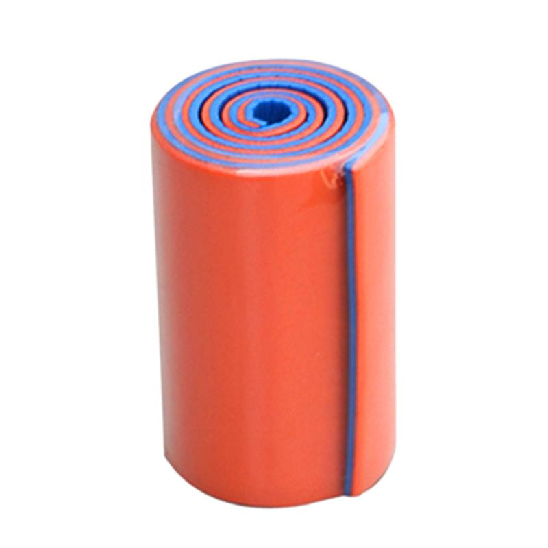 11 X 46cm Emergency Kits Survival Medical Multi-use Orange Blue Aluminum Training Splint Fixed First Aid Kit Bandage Roll Pet