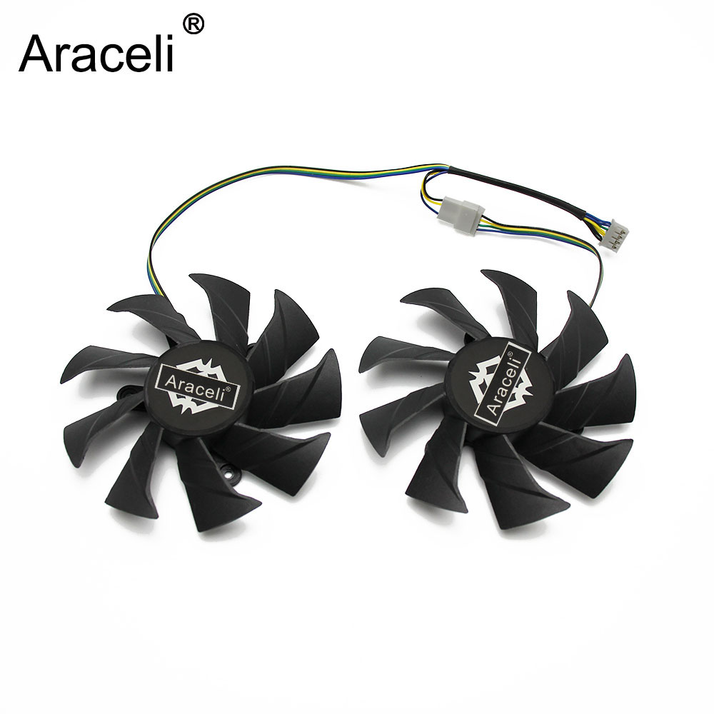 New 85mm 4Pin VGA Cooler Fan Replacement For Zotac GTX1060 6Gb OC GTX 1060 3GB Graphics Video Card Cooling Fan image