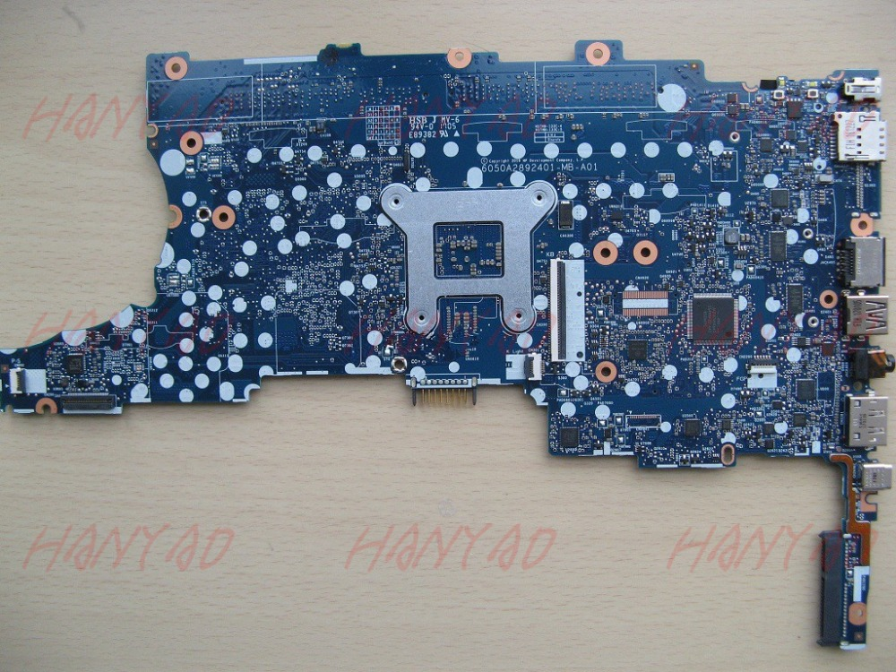 6050A2822301 MB A01 For HP 840 G3 Motherboard 826806 001 With i5 cpu free Shipping 100 test ok in Laptop Motherboard from Computer Office