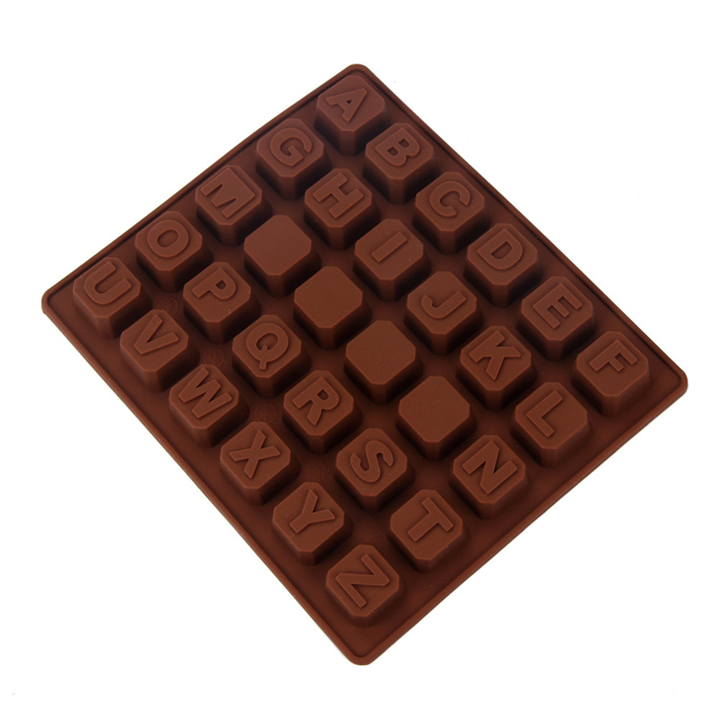 silicone letter alphabet cake fondant mould chocolate cookies candy mold high quality on hot selling new