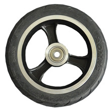 cheap 5.5 inch scooter wheel PU Wheel Scooter Tire for Wheelchair Rear Wheel factory high quality original Scooter wheels цена