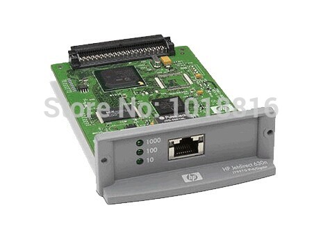 Free shipping 100% new original JetDirect 630N J7997G Ethernet Internal Print Server Network Card and DesignJet Plotter Printer