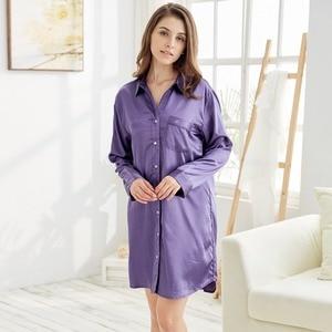Image 3 - قميص نوم نسائي من توني آند كانديس ستان لباس نوم من الحرير فستان نوم نسائي مثير ملابس نوم سادة للنساء