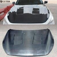 Capuzes de Fibra De Carbono Auto Car Motor Capotas Q50 Q50 Capas para Infiniti 2014 2016|bonnet cover|bonnet hoodbonnet car -