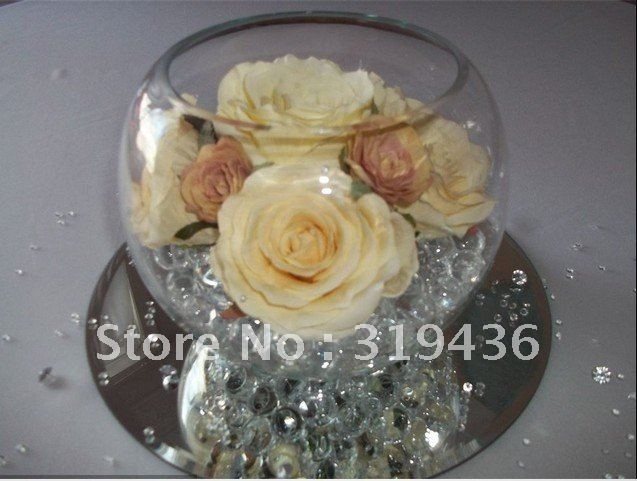 Water Bowl Decoration Prepossessing Free Shipping Hot Wholesale Decoration Glow Clear Crystal Gel Decorating Inspiration
