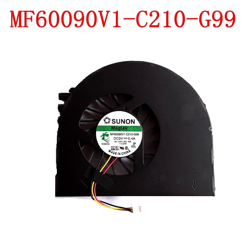 Вентилятор охлаждения SUNON 3PIN для ноутбуков Dell Inspiron 15, 15R, N5110, N5110, новый оригинальный вентилятор охлаждения для Dell Inspiron 15, 15R