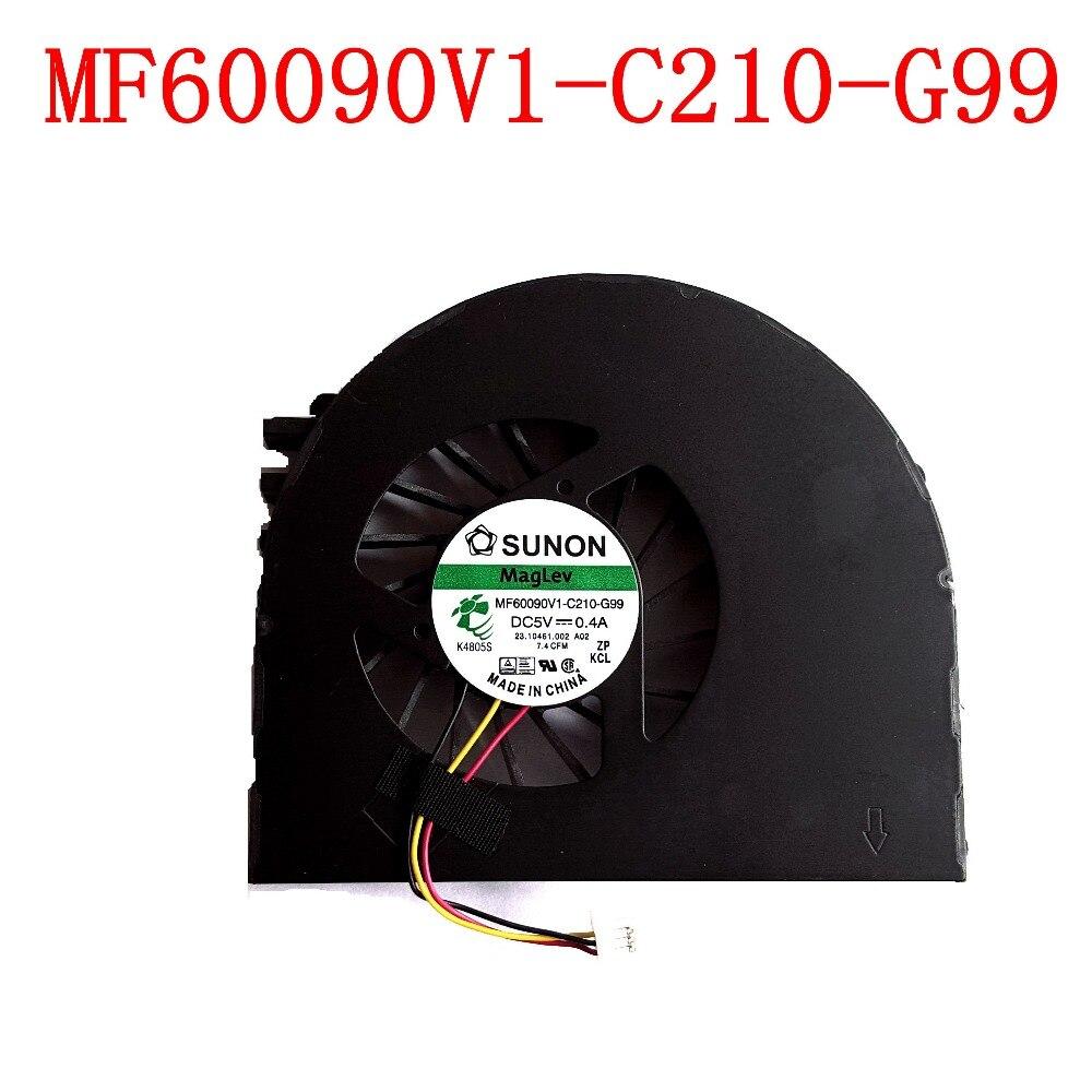 NEW Original SUNON MF60090V1-C210-G99 3PIN pour Dell Inspiron 15 15R N5110 N5110 Ordinateurs Portables Ventilateur De Refroidissement