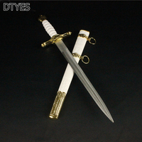 Classic Dagger Home Decorated Sword Antique Metal Sword Handles Beautiful Stainless Steel Blade Sword Cosplay Props Gifts