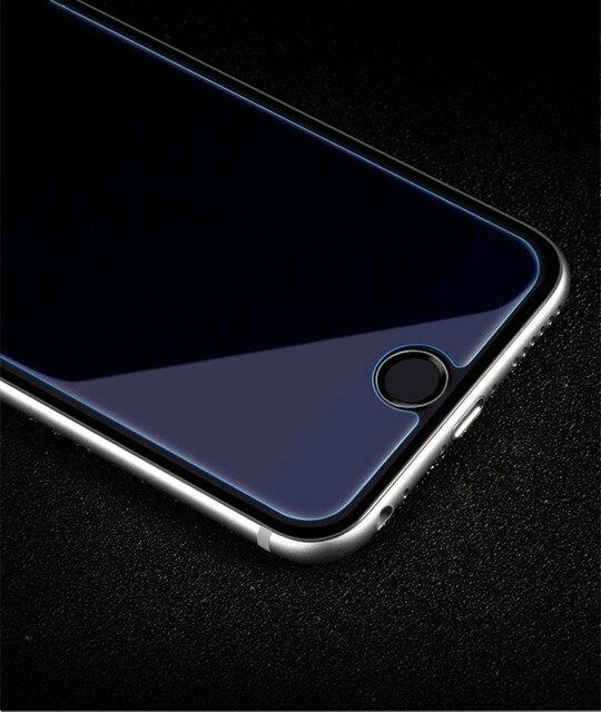 Anti Blu Ray Vetro Temperato per iPhone 6 6 S 7 Più 5 5 S SE 4 S Protezione Dello Schermo Resistenti Alla Luce Blu Occhi Proteggere Pellicola