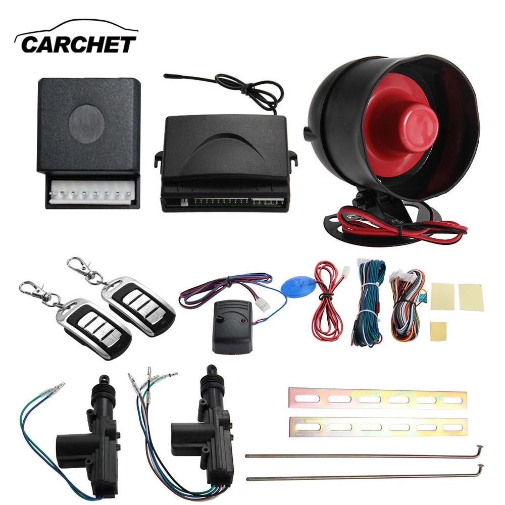 CARCHET Car Remote Central 2 Door Remote Keyless Entry Central Locking Kit