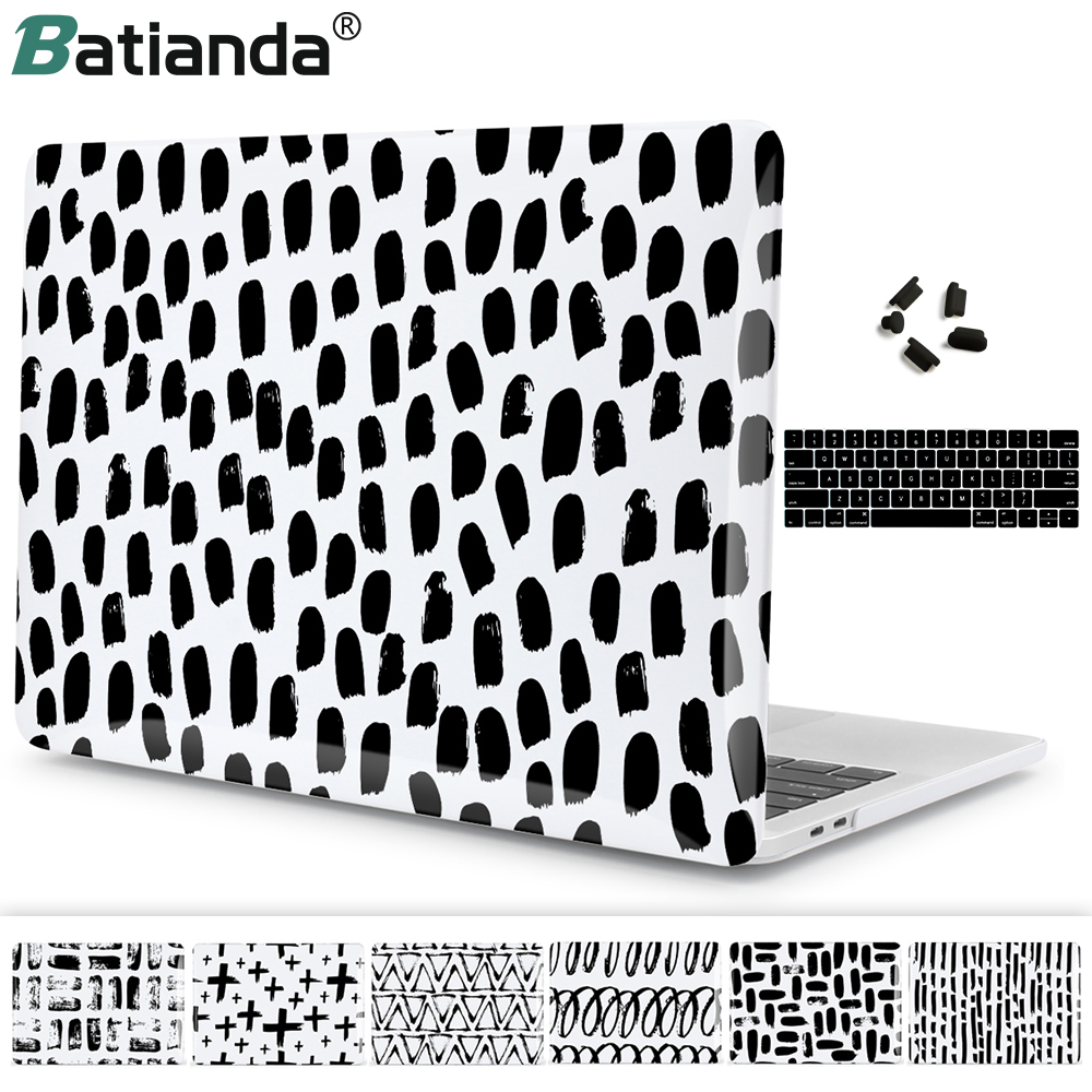 Rubberized Hard Case Shell+Free KB Cover/&Dust plug for Macbook Pro 13//15Air11//13