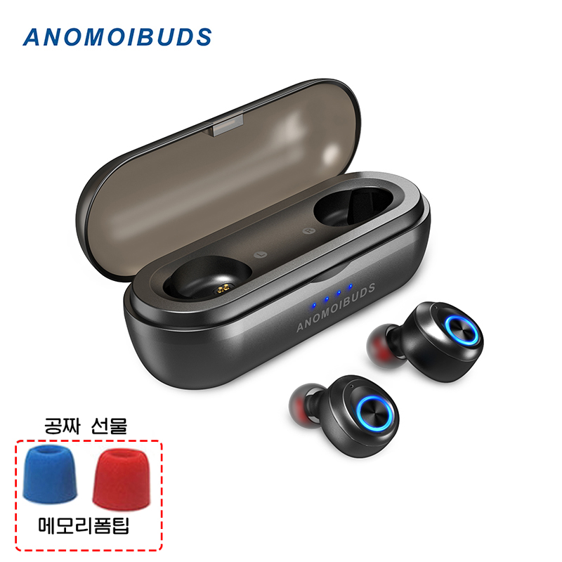 Anomoibuds IP010 X Capsule Pro 1000mah Battery Wireless Bluetooth 5 0 Earphones TWS Earbud Auto Pairing