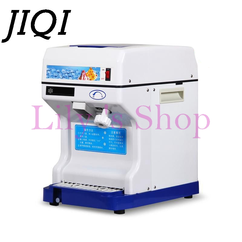 Commercial ice shaver crusher ice slush maker mini snow cone machine multifunction sand ice making machine 110V 220V EU US plug edtid new high quality small commercial ice machine household ice machine tea milk shop