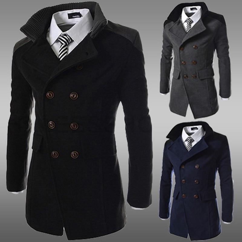 Popular Wool Trench Coat Men-Buy Cheap Wool Trench Coat Men lots