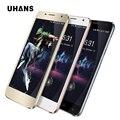 4g + lte/wcdma uhans a101s a101 teléfono móvil mtk6737/mtk6580 quad core 2450 mah 1 gb + 8 gb/2 gb + 16 gb smartphone uhans a101s a101