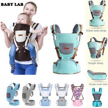الطفل الناقل الطفل الكنغر حقيبة تنفس الجبهة التي تواجه الطفل الناقل 4 في 1 الرضع حقيبة الظهر الحقيبة التفاف شيالة بيبي لحديثي الولادة