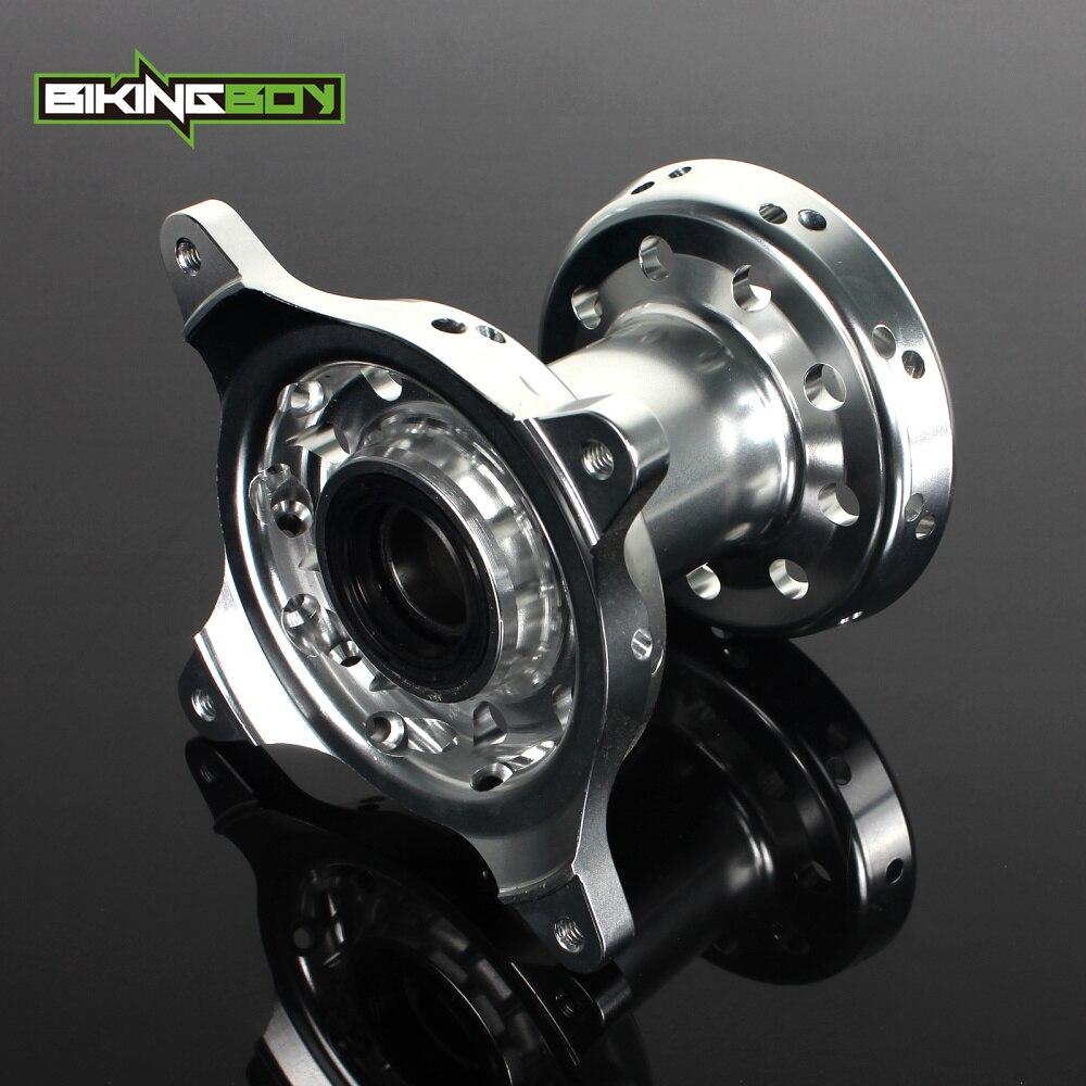 BIKINGBOY Aluminum Alloy Front Wheel Hub 36 Holes For SUZUKI RM Z 250 2007 2016 RMZ 450 05 06 07 08 09 10 11 12 13 14 2015 2016