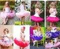 Бесплатная доставка детские dance party тюль юбка девушки милые пушистые шифон принцесса юбки pettiskirt