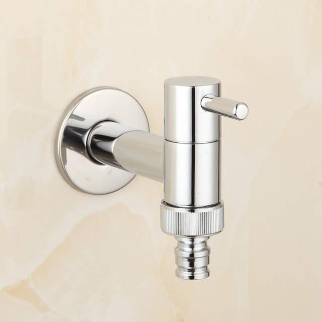 Online Shop Brass Chrome Laundry Bathroom Washing Machine Faucet