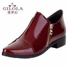 plus size 34-43 new martin snow women ankle boots autumn black wine red boots women winter shoes woman best #Y3203527F
