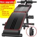 Universal asientos abdominales Tabla de ejercicios abdominales equipos de entrenamiento músculos doblar mancuernas máquinas de Fitness para el hogar
