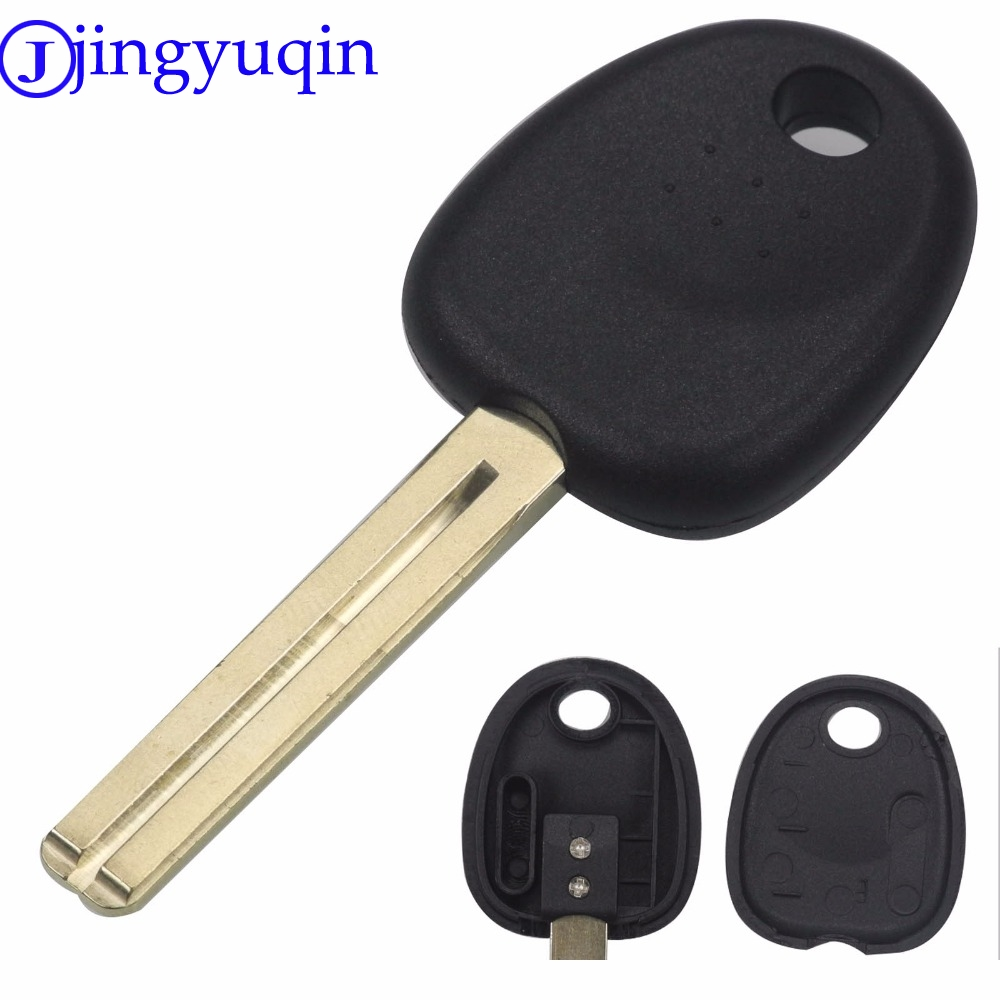 jingyuqin For Hyundai Reina For Kia K2 Straight Key Shell Installed Chip Remote Modification Key Case Shell Cover maizhi 3 button flip folding car key shell for hyundai avante i30 ix35 kia k2 k5 sorento sportage key cover case styling