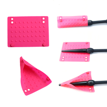 Styling Tools professional Heat Resistant Silicone Mat for Hair Curling Iron Hair waver Pear Flower Cone Heat Hair Curler Roller