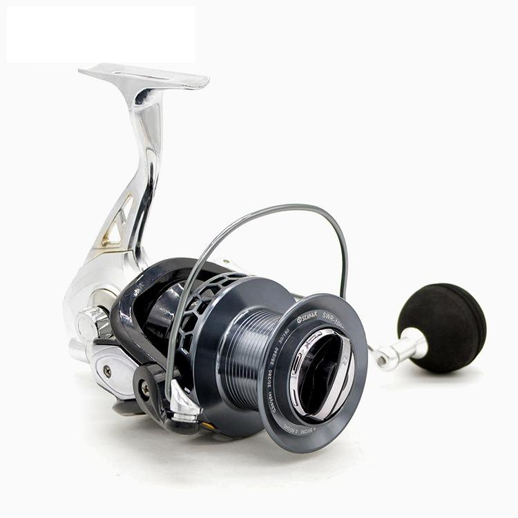 Image 2 - New product Anti seawater SWR8000 10000 type Spinning wheel reel 13BB All metal Gapless Sea fishing Distant wheel-in Fishing Reels from Sports & Entertainment