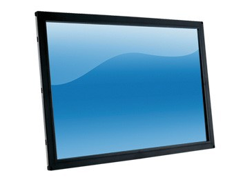 32 inch industrial display ultra-thin HD embedded wall mounted 2 point touch screen LCD screen цена
