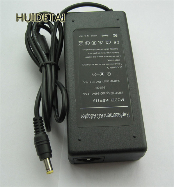 19V 4.74A 90W AC Power Adapter Charger for Acer Liteon PA-1900-04 7540G 7720G 7741G 7741Z