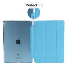 Case For iPad Pro 12.9-inch, Redlai Ultrathin Auto Wake Smart Cover Case Soft TPU Translucent Back Case For iPad Pro 12.9 2015
