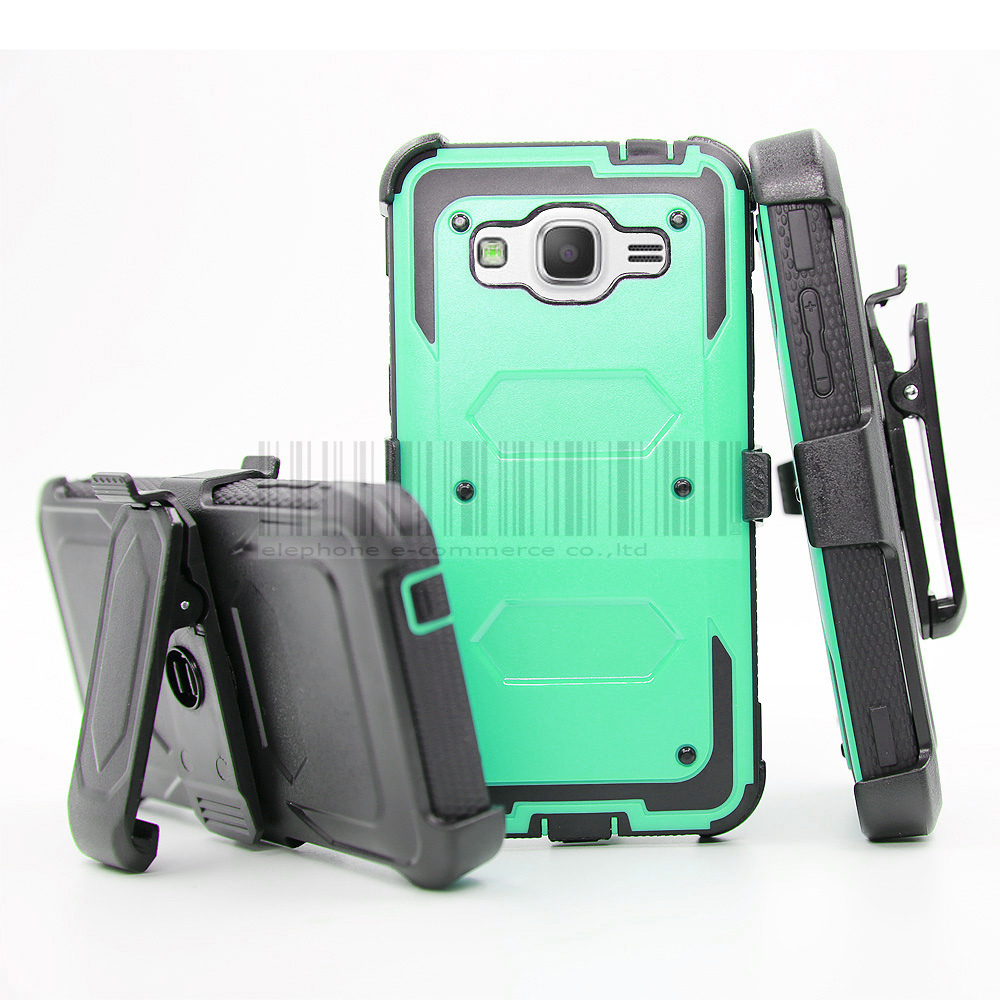 huge discount 179ae 32126 US $4.74 5% OFF|Hard Armor Case+Belt Clip Holster Cover For Samsung Galaxy  Grand Prime G530/Core Prime G360/J3 2016/J7 2017/Express/Amp Prime-in ...