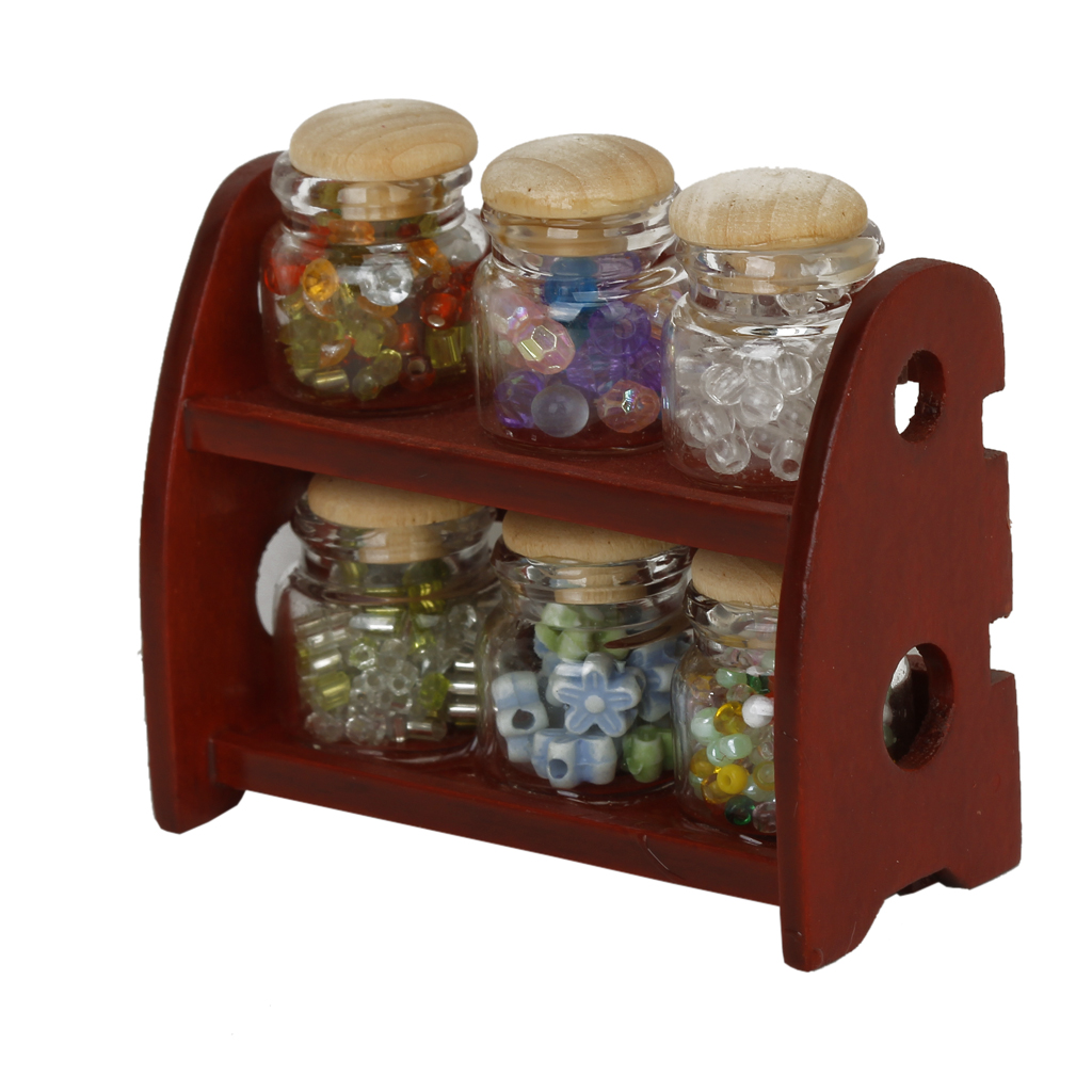 Kitchen Accessory Shop: Aliexpress.com : Buy 1/12 Miniature Glass Spice Pot Bottle