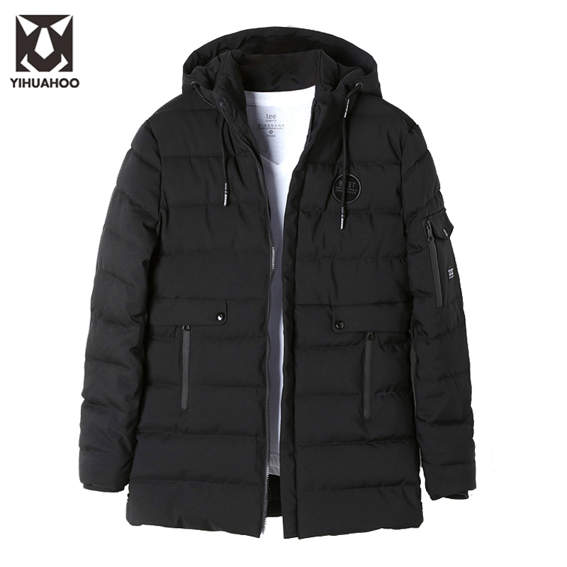 2017 New Arrival Winter Jacket Men Casual Thickening Warm Parkas Outerwear Coats Cotton Jackets Male Windbreaker HZX-9640 children winter coats jacket baby boys warm outerwear thickening outdoors kids snow proof coat parkas cotton padded clothes