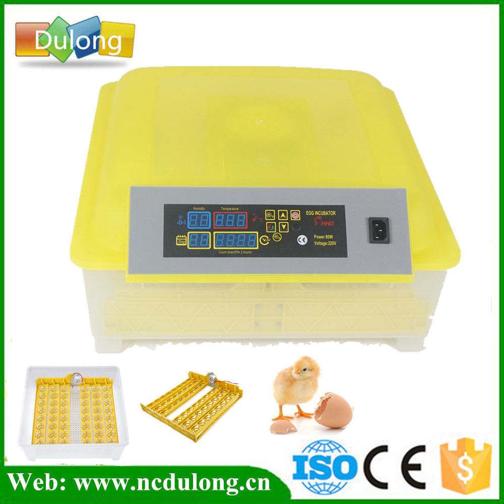 New fully automatic 48 cheap mini Eggs Incubator machine Turn The Eggs Tray Duck Goose Poultry Birds Free Shipping fancytrader new style giant plush stuffed kids toys lovely rubber duck 39 100cm yellow rubber duck free shipping ft90122