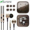 VOLTOPE Earphone Wired 3.5mm Piston In-Ear Stereo Metal Headset Piston Earbuds Universal For Xiaomi IPhone Samsung S6 Mp3