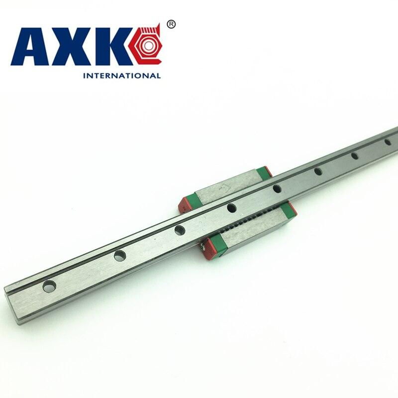 Axk 12mm Linearführung Mgn12 L 405mm/420mm/470mm Schiene Mit 1 stücke Mgn12h/MGN12C Wagen Block Für Cnc Diy Und 3d Drucker Xyz
