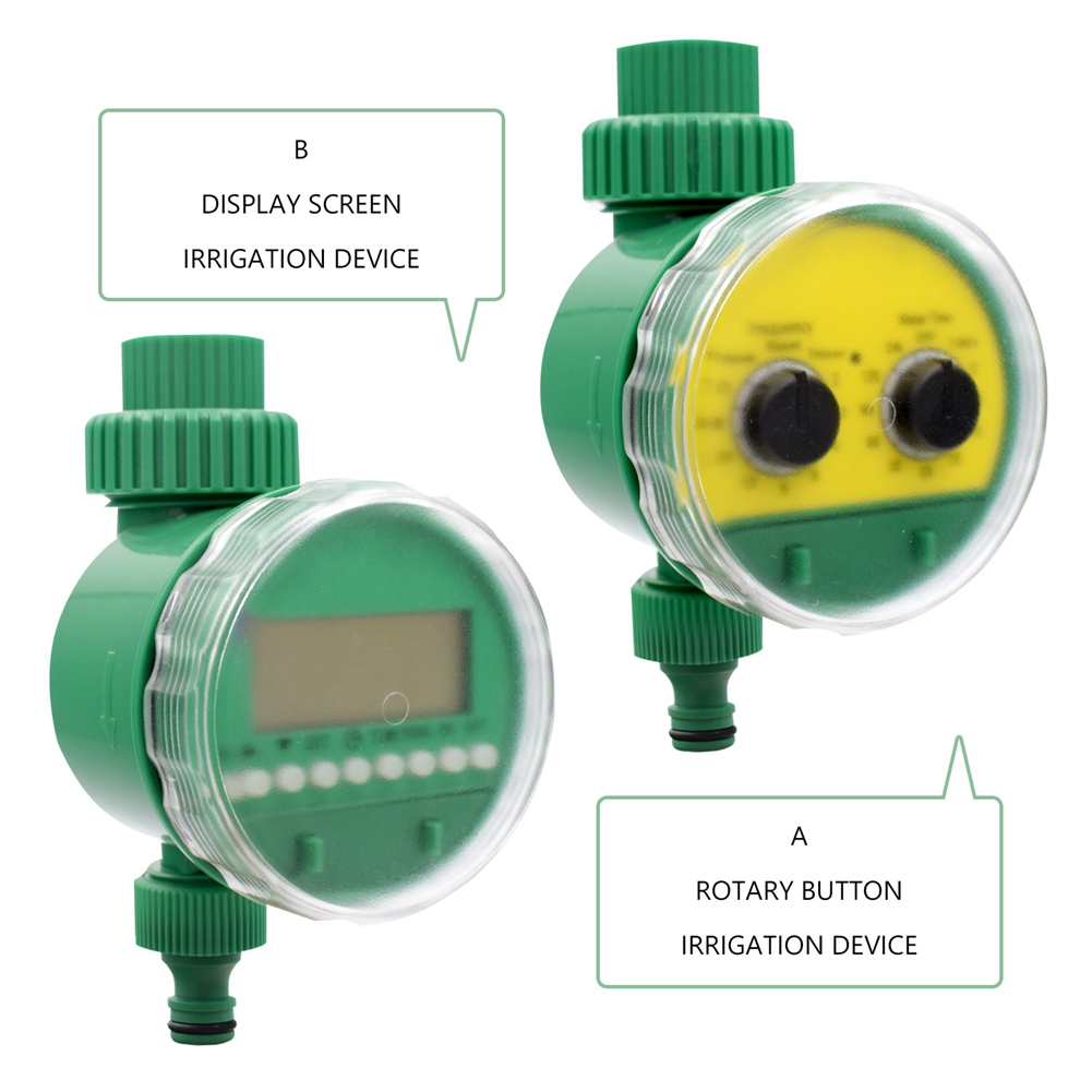 Image 5 - Garden Watering Timer Ball Valve Automatic Electronic Water Timer Home Garden Irrigation Timer Controller System-in Garden Water Timers from Home & Garden