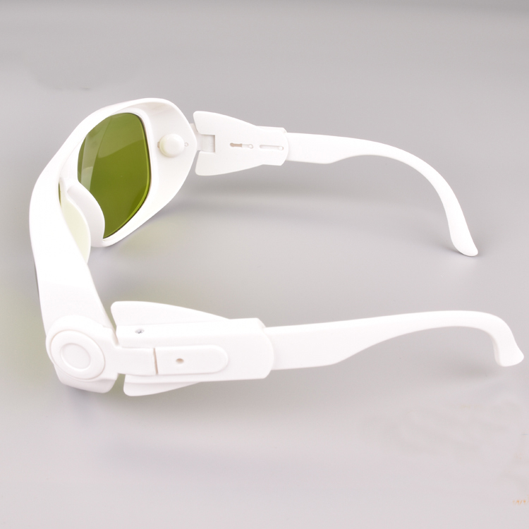 o.d 6+ 980nm 1064nm 1070nm laser safety glasses with ce and black bag and cleaning colth high vlt