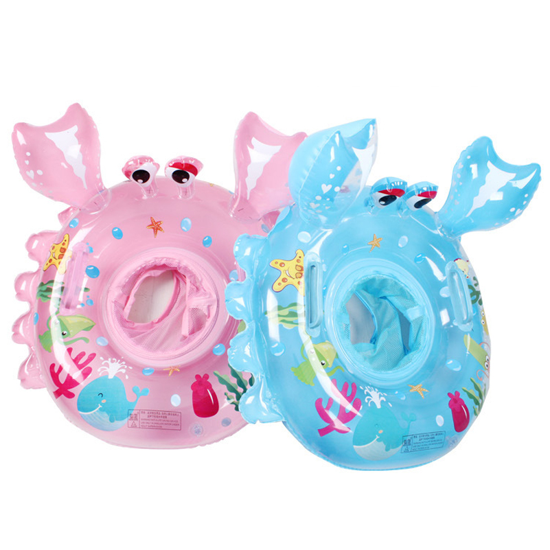 2017 Baby Swimming Ring Dount Seat Inflatable carb Pool Float Baby Summer Water Fun Pool Toy Kids Swimming Pool Accessories
