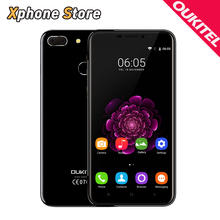 Original OUKITEL U20 Plus 4G LTE Android 6.0 5.5 inch 2GB RAM 16GB ROM Smartphone MTK6737T Quad Core 1.5GHz 13.0MP Mobile Phone