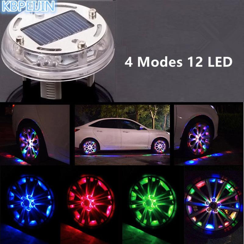 HO 12 LED Car Refitting accessories Auto Flash Wheel Tire Light for infiniti fx35 q50 g35