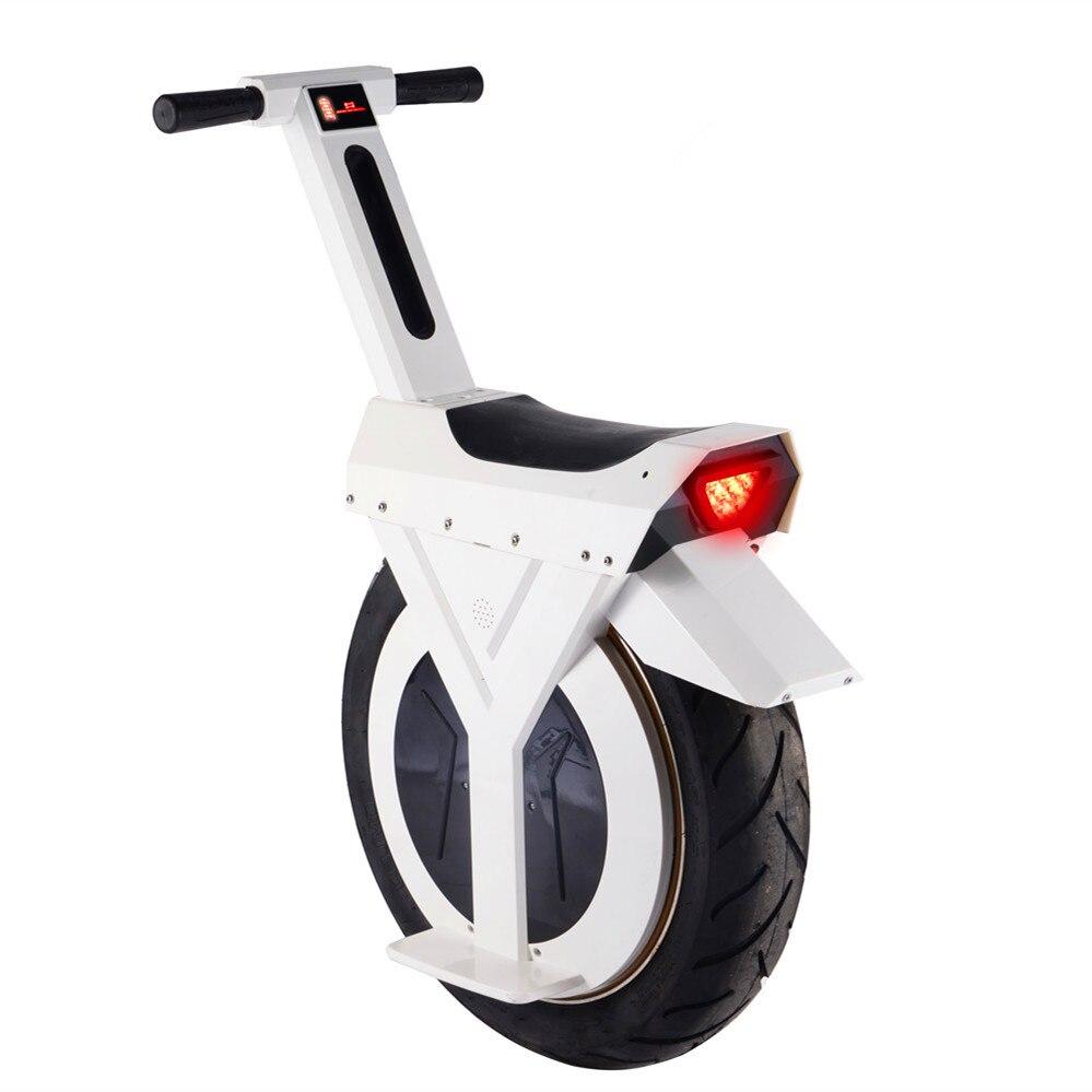 2018 nouveauté 17 pouces électrique gros pneu une roue monocycle 60 V 500 W Smart Sing